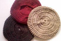 boinas a crochet