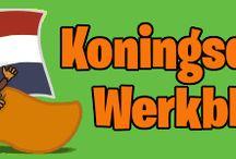 School: werkbladen Koningsdag