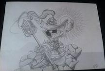 Dibujos / Simplemente dibujos fruto de mi aburrimiento.