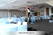 Wedding time-lapse videos / Time lapse video of the set-ups of weddings Bells N Whistles has planned, designed or styled. Step-by-step as we make couples' special days a reality.