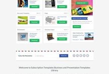 Subscription Templates | Subscriptiontemplates.com / Get professional PowerPoint templates, PowerPoint charts and diagrams, PowerPoint maps, Animated PowerPoint templates, Word templates and more with different subscription plans.