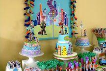 Decoracion fiesta Zootopia