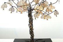 Esculturas / Em algum momento as idéias avançaram e eis que convergiram em esculturas com elementos de meu cotidiano...