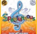 """Spontuneous Game Night / Another Game Night Opportunity!  Have you ever heard a word that """"triggered"""" you to sing a song? If so, then you have got to try playing Spontuneous™.  100 people will receive a free copy to showcase to their friends and family during November. Go learn more and sign up!  http://www.tryazon.com/spontuneous-game-night/"""