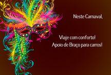 Viajar no Carnaval com Apoio de Braço, muito conforto!