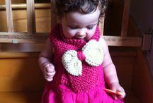 Foulard tricoté