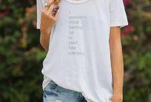 tshirt addiction / by Melanie Williams