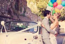 愛車と残す wedding photo