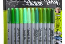 John green Sharpie Collection