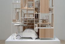 vehicles in architectural models