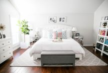 Master Bedroom / by Julie {The Girl in the Red Shoes}
