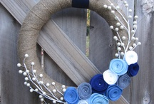 Wreaths / Use wreaths to decorate your home !!!!