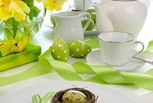 eastern party inspirations / Easter party decoration