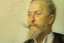 ОТТО  ВАГНЕР. / О́тто Колома́н Ва́гнер — австрийский архитектор, мастер стиля модерн, лидер его австрийской ветви — сецессиона.