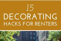 Decorating Hacks for Renters