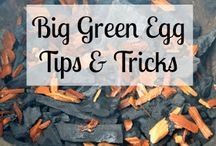 The Green Egg and why not have some ham? / Grilling
