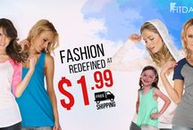 Fashion / Create your fashion statement, dress up in comfort and style with top trending wear just at $1.99 and get it delivered free of cost only at fitdango.com