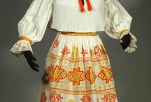 slovenské kroje-slovak folk clothes-kroje