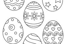 húsvéti sablonok,rajzok
