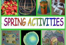 Springtime Activities / Fun learning activities fit for spring!