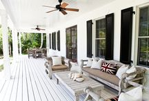 Outdoor decks / Outside spaces to catch the breeze in summer and cozy up in winter