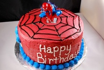spiderman birthday party / by Teresa White