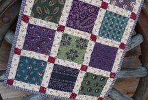 Eenvoudige quilt
