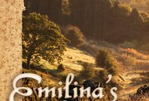 """Emilina's Conquest / Illustrations and Inspirations for my Regency short fiction, Emilina's Conquest. """"Miss Emilina Brook, sent by necessity on a coach journey, meets young Dr. Secord Cardew who, she thinks, could be her heart's companion. Or could he?"""" For more information, go to: http://www.lesleyannemcleod.com"""