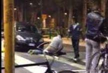 E' successo a Milano, un massacro sul bordo di un marciapiede. E' stato ripreso tutto!