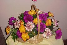 Some nice flowers arrangements and garden flowers / Do any thing from baking, handmade things etc.