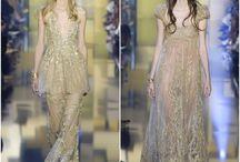Elie Saab Alta Costura 2015 / Os vestidos em 50 tons de dourado da coleção de alta costura de Elie Saab
