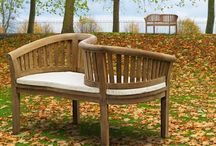 Companion Benches - Love Seats / The perfect way to enjoy garden relaxation with a loved one, choose one of our charming companion benches. We offer a wide range of Jack and Jill bench seats, from the classic Clivedon range of companion benches to the more luxurious Arbour bench, so you are sure to find the perfect bench to suit you.