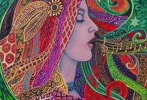 ~~Art Work in Colors~~ / by Sapphire Babee
