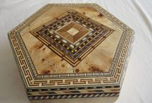 TARACEA Y CONTRACOLADO / Decoración con tiras de madera o papel.  www.manualidadespinacam.com
