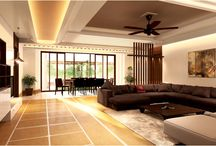 Greater Noida- Villa- Jaypee Greens / The villa is to be used as the weekend retreat by the owner. The primary concern of the owner is ample natural light and ventilation. The layout has been re-configured as per the requirement that provides with larger rooms and their integration to the landscaped area in the front and the rear setbacks. The rear is further flanked by a golf course that provides ample cool and fresh breeze to enter the house. The villa also incorporates a roof-top bar with independent landscaped zones.