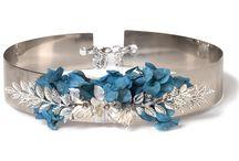 Joyas con flores / ¿Te atreves a combinar las joyas con las flores? Mira qué resultados tan espectaculares...