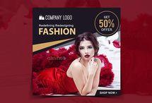 Fashion Sale Instagram Banner(50% off)