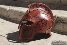 Leather Helmets
