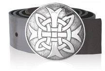 Belt Buckles / Belt buckles are a great accessory when you are not wearing a waistcoat. We have a selection of lovely pewter buckles with Celtic and Scottish thistle designs as well as your own clan crest buckle. / by MacGregor MacDuff
