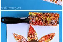 Toddler Fall & Thanksgiving Crafts / Toddler Thanksgiving Crafts | Toddler Fall Crafts | Turkey Crafts | Kid Thanksgiving Crafts | Fall Leaves Crafts | Fall Crafts for Toddlers | Toddler Tree Crafts | Easy Fall Crafts | Fall Activities for Toddlers
