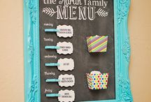 Meal Planning Boards