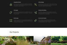 Webdesign landscape