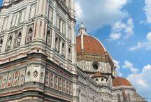 The Duomo, Florence / Details of the amazing facade of the cathedral in Florence.