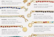 Colours of jewelry