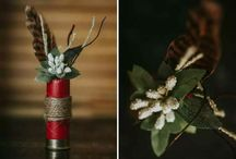 Hunting wedding  decorations / Hunting theme wedding ideas