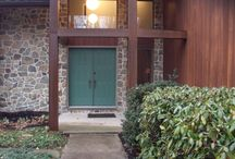 Elizabethtown Project / Installation of new front door, trim, and hardware