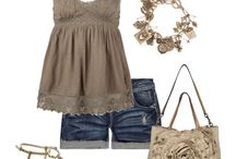 Summer Closet/Black,Grey outfits / by Kim Boyette