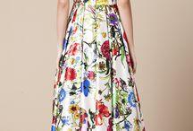 Mrs G's long dresses