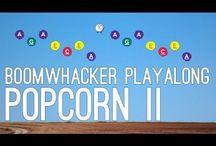 MV Boomwhackers / Een boomwhacker is een modern percussie-instrument. Het zijn meerkleurige holle plastic buizen die ten opzichte van elkaar harmonisch gestemd zijn. Het instrument wordt bespeeld door hem tegen een andere boomwacker, tegen het lichaam of tegen een ander voorwerp te slaan. Ook kan men hem met stokken bespelen, net als bij een xylofoon.