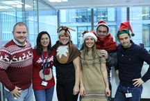 Supporting Christmas Jumper Day 2014 / In 2014 our employees selected Save the Children as our chosen charity for employee fundraising and we're proud to support their work and help make a positive difference to vulnerable children all over the world, all year round. The UK Government will match your donation for Chistmas Jumper Day pound for pound up to £5 million, until 31 December 2014. Find out more about our CSR work: http://visaeurope.com/about-us/corporate-responsibility/